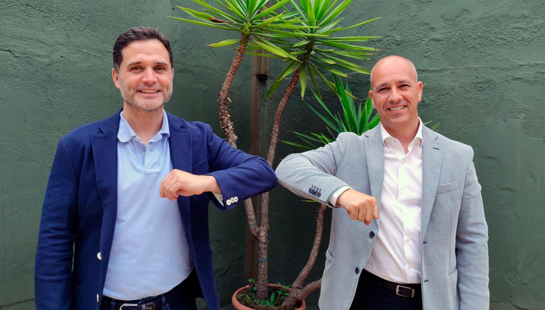 Álex Badrena y Alex Rosales firman convenio de colaboración